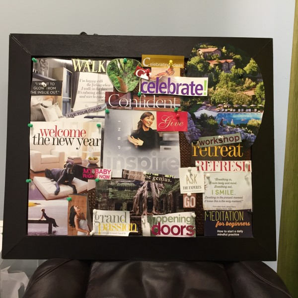 Cultivating Happiness with a Vision Board